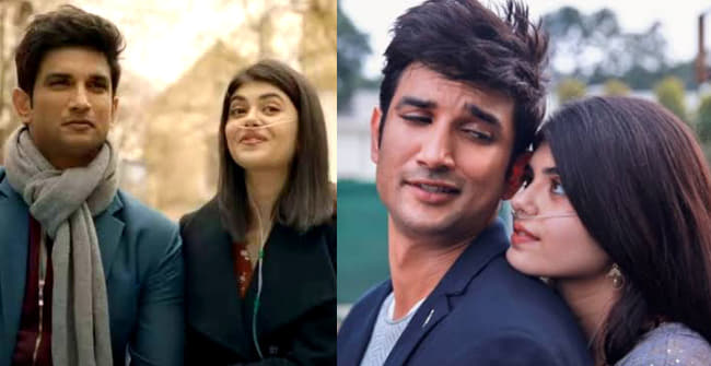 Dil Bechara's Second Song 'Taare Ginn' Released; Sushant & Sanjana's Romance Make It Unique