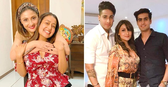 Urvashi Dholakia Celebrates Birthday With Mom, Sons & Neha Kakkar; Singer Calls Her 'Strongest Woman'