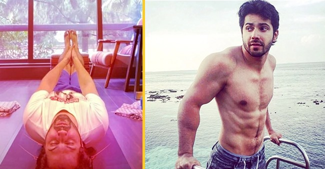 Varun Dhawan Shares A Pic As Actor Nails 'Raised Leg Pose' Easily; Inspires Fans To Follow Yoga