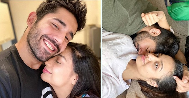 Divya Agarwal Shares A Mushy Pic With An Adorable Note As Her Bachcha Varun Sood Is In Delhi