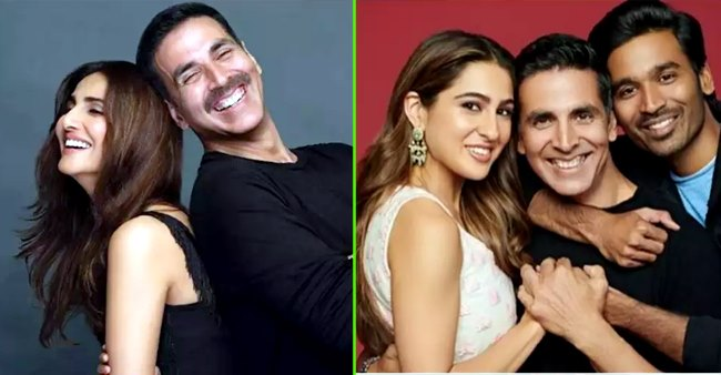 Let's talk about the leading ladies in Akshay Kumar's upcoming movies