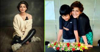 Sonali Bendre stepped into her son's shoes, literally, now she refuses to give them back