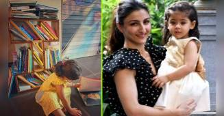 Soha Ali Khan captures another hobby of daughter Inaaya Naumi Kemmu, looks like her weekend is 'booked'