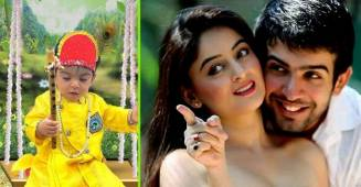 Jay Bhanushali and Mahhi Vij's daughter, Tara turns into adorable 'Ladoo Gopal' for Janmashthami