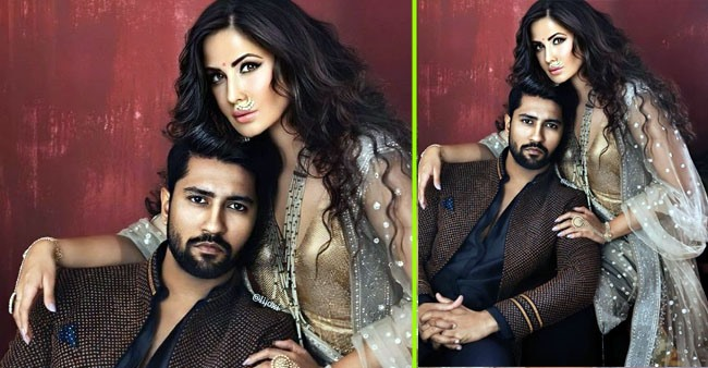 Vicky Kaushal was spotted outside rumored girlfriend Katrina Kaif's residence