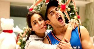 Looks like BFFs Hina Khan and Priyank Sharma missed each other a lot; got all goofy after they met