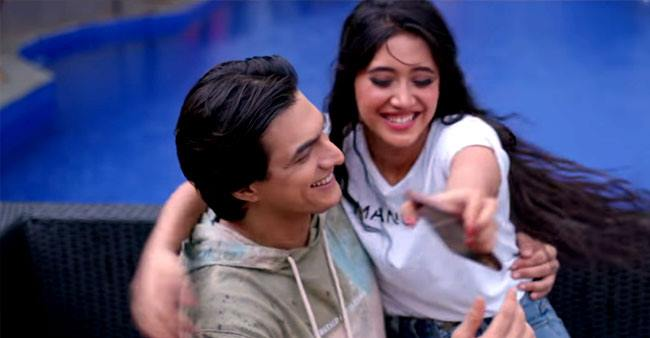 Shivangi Joshi and Mohsin Khan's new music video 'Baarish' captures the freshly brewed romance