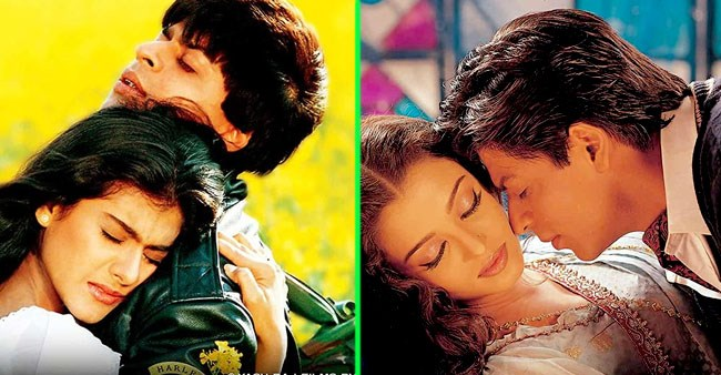 Shah Rukh Khan, the Bollywood's king of romance and his most iconic roles