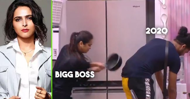 Bigg Boss 13's makers use Madhurima and Vishal's video as meme, the actress's reaction was fierce