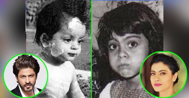 Pictures of few Bollywood stars from when they were kids
