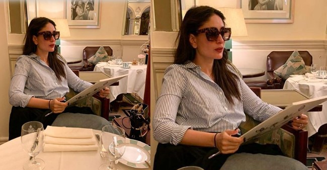 Kareena Kapoor shares a throwback picture showing her love for food