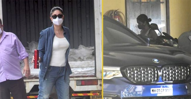 Bebo & Malaika Clicked Outside Amrita Arora's House To Enjoy 'Special Lunch Date'
