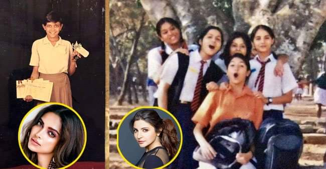 Boolywood actresses look back to their school days, this is how they looked in their uniforms