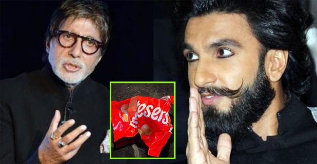 Ranveer Singh reacts to Amitabh Bachchan's post about midnight cravings