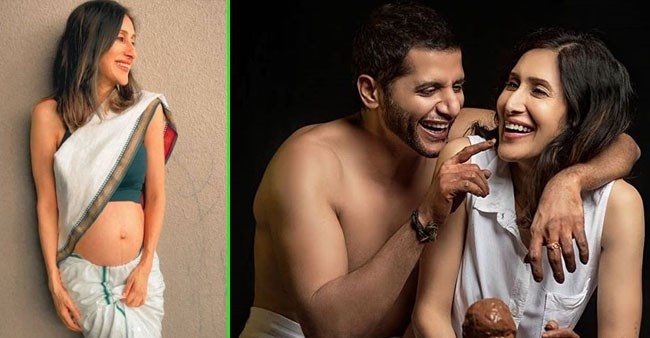 Karanvir Bohra gushes over wife Teejay as she flaunts her baby bump