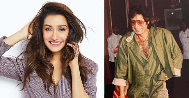 Shraddha Kapoor wishes father Shakti kapoor on his birthday with an unseen picture
