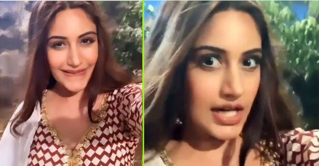 Surbhi Chandna shares BTS videos from the sets of Naagin 5