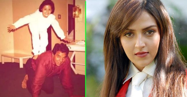Esha Deol's rare childhood picture with 'papa' Dharmendra gives us father-daughter goals