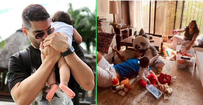 Angad Bedi shares Instagram reels with daughter Mehr as she enjoys her Sunday