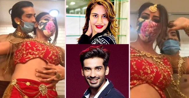 Surbhi Chandna And Mohit Sehgal's 'happy dance' as they get their 'Tandav' right