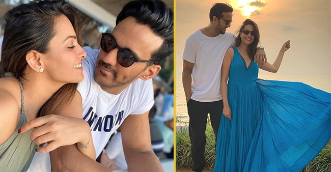 Anita Hassanandani and Rohit Reddy's PDA pictures that give us a glimpse of their adorable love