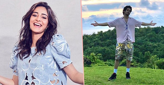 Ananya Pandey becomes photographer for her 'Khaali Peeli' co-star Ishaan Khatter