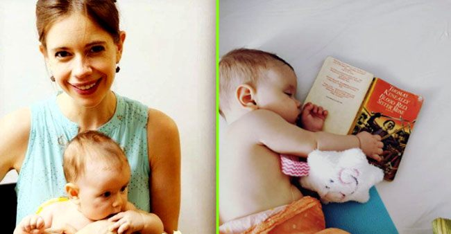 Kalki Koechlin shares pic of her daughter sleeping next to a book, calls her an 'early feminist'
