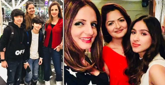 Sussanne Khan wishes Hrithik's niece Suranika with an adorable video