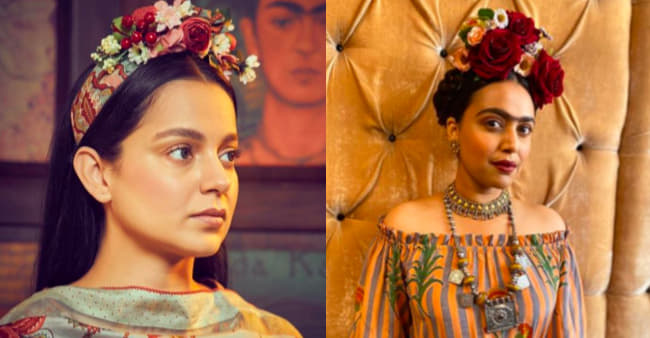 Bollywood actresses inspired by Frida Kahlo for their unusual look