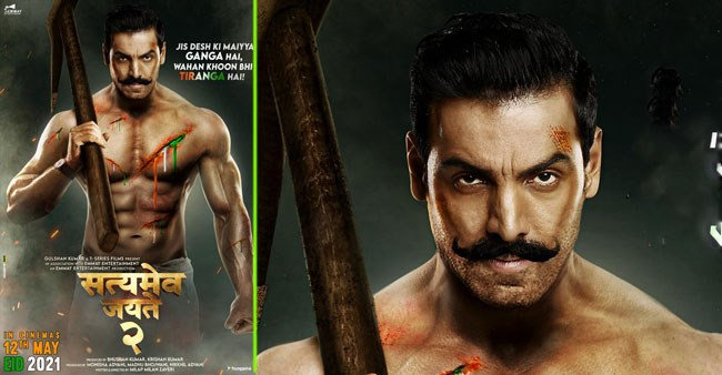 John Abraham shares the new poster of Satyameva Jayate 2, reveals the release date; Check out