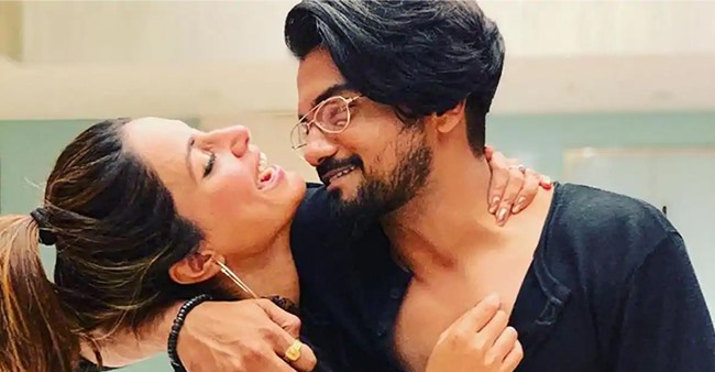 Rocky Jaiswal showers love on girlfriend Hina, calls her the reason for everything good