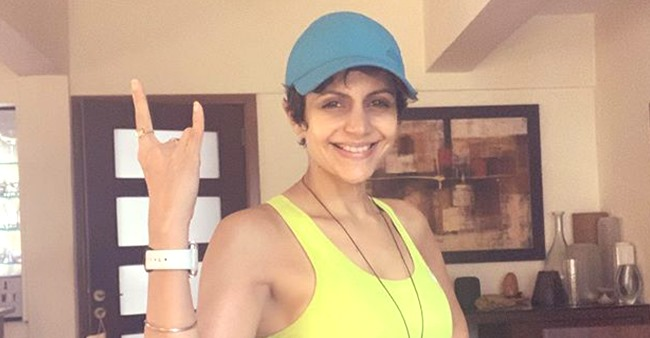 Mandira Bedi starts her day with burning calories, her dedication is inspirational
