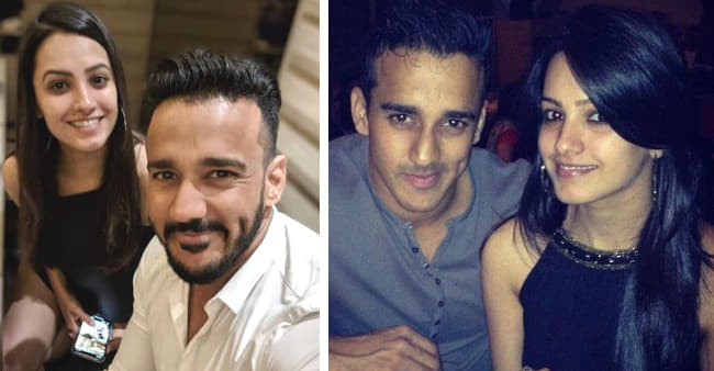 Anita Hassanandani & Rohit Reddy being goofy together in a video
