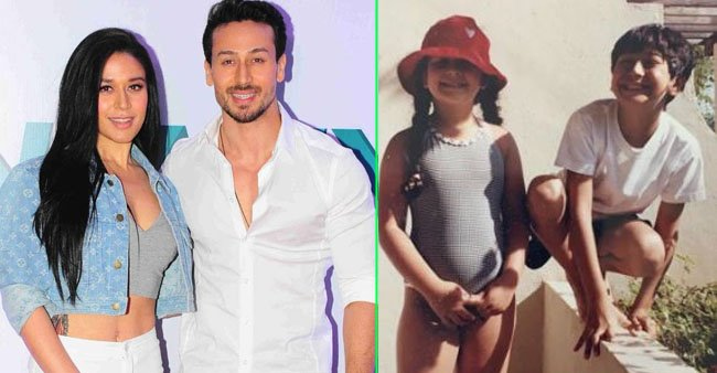 As Krishna shares a childhood picture with brother Tiger Shroff, it takes over the internet