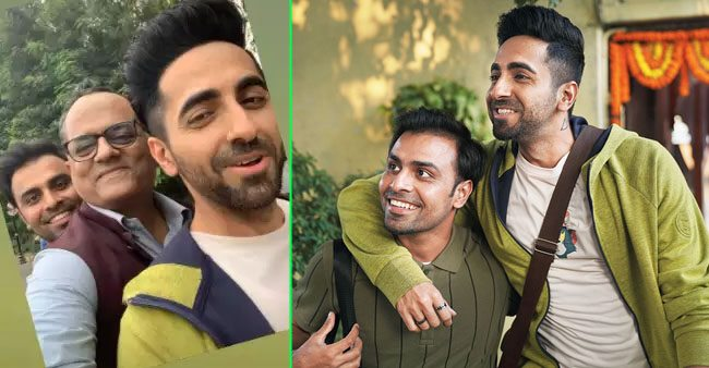 Gajraj Rao's selfie with Ayushmann and Jitendra is adorably unmissable