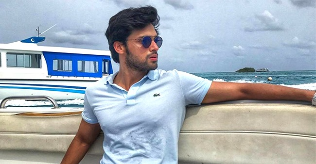 Parth Samthaan takes a break and flies off to Goa after wrapping up KZK2
