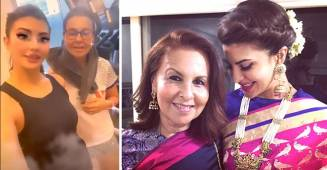 Jacqueline Fernandez finally meets her mother after ten long months