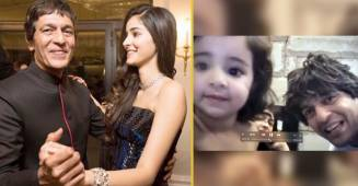 Ananya shares an adorable childhood video with Chunky Panday wishing 'Pip' on his birthday