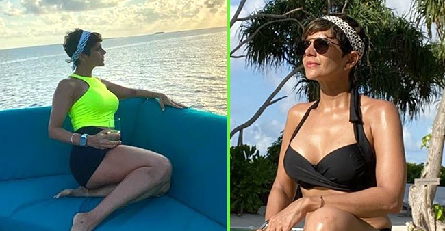 Pics from Mandira Bedi's vacation are making us green with envy
