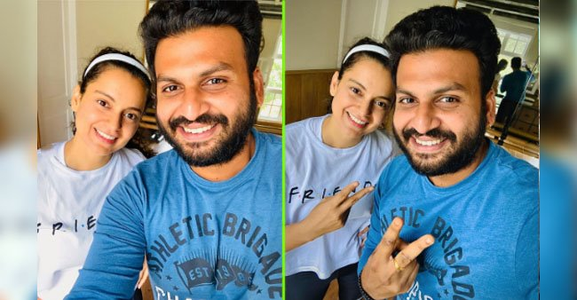 Kangana Ranaut is back to work for Thalaivi, shares dance rehearsal pic with choreographer