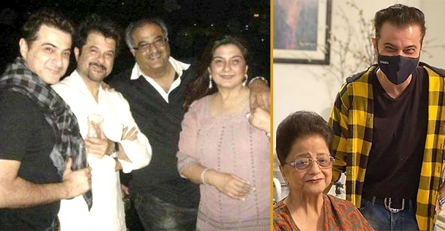 Anil, Sanjay and Boney Kapoor shared nostalgia-dipped pictures on social media