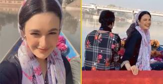 Yuvika Chaudhary misses her hubby Prince Narula as she spends time in Kashmir