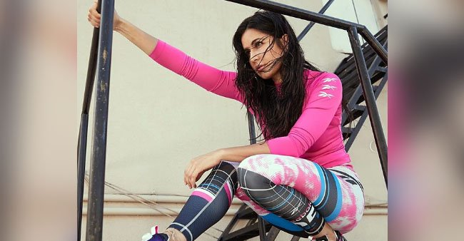 Katrina Kaif surges the temperature as she takes the fashion game up with her athleisure
