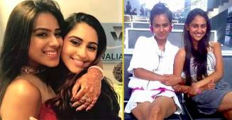 Krystle & Nia's visible transformation in a throwback picture shared by latter on Instagram