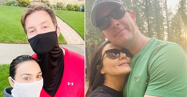 Preity Zinta shares an adorable picture with hubby on her social media account