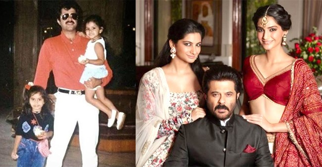 Anil Thanks Sonam & Rhea On Daughter's Day For Making His Life Complete; Shares Unseen Pics