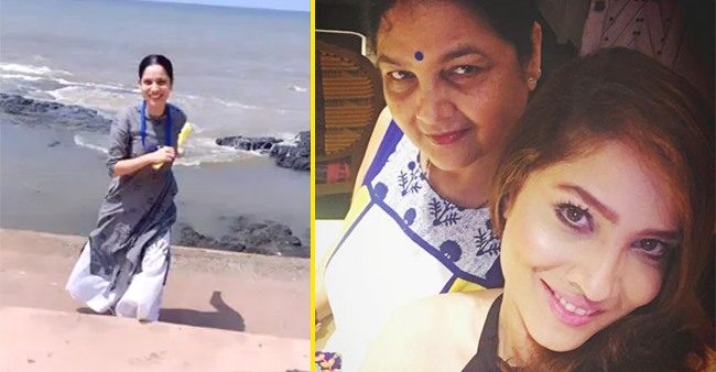 Enjoy The Glimpse Of Ankita Lokhande & Her Mom's Well-Spent Day At The Beach