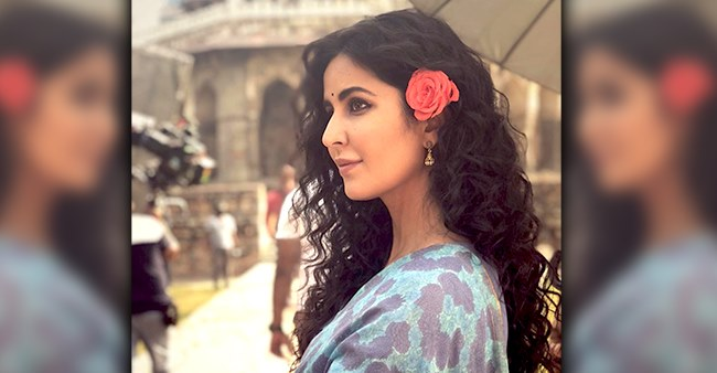 Throwback picture of Katrina Kaif flaunting her curls on the sets of 'Bharat'