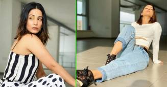 Stylish pictures of Hina Khan that prove us she is a true fashionista