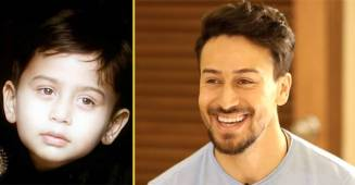 Tiger Shroff's picture from childhood shared by mother Ayesha is adorable